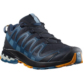 Salomon XA Pro 3D v8 Zapatillas Hombre, night sky/dark denim/butterscotch